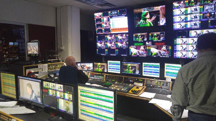 WJLA Control Room - Photo: Mike Rhodes