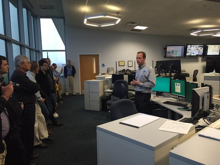NWS Facility Tour - Photo: Brian Oliger